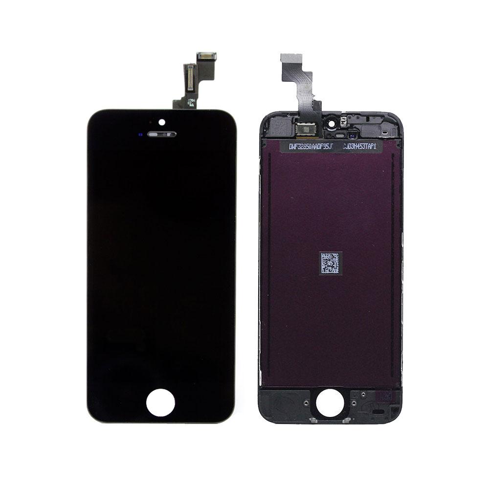 Iphone 5c Black Front